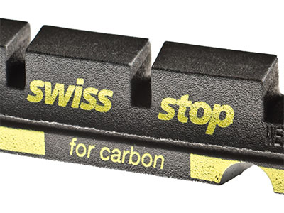 Swissstop consejo negro balatas canti para sensibles llantas de aluminio